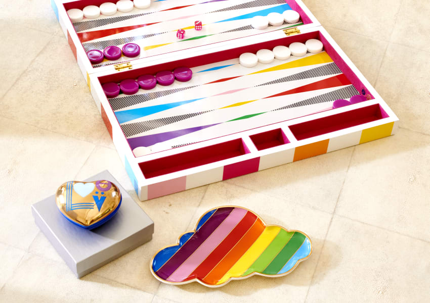 Cloud Trinket Tray|Checkerboard Backgammon|Love Heart Box