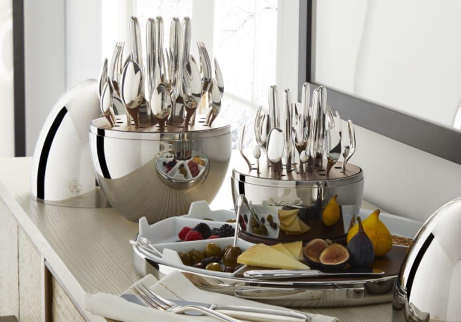 24-piece MOOD FLATWARE SET in Silver