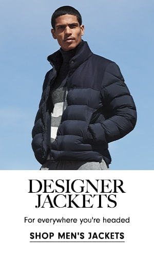 Designer jackets for everywhere you're headed