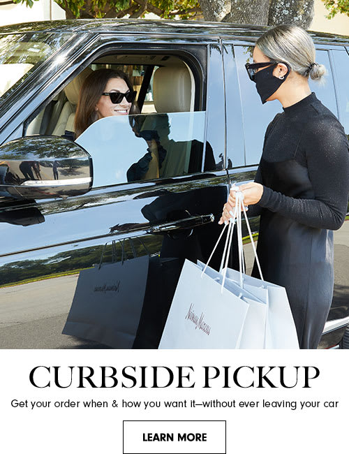 Curbside pickup. Get your order when & how you want it-without ever leaving your car