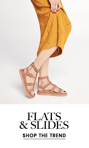 Flats & Slides - Shop the Trend