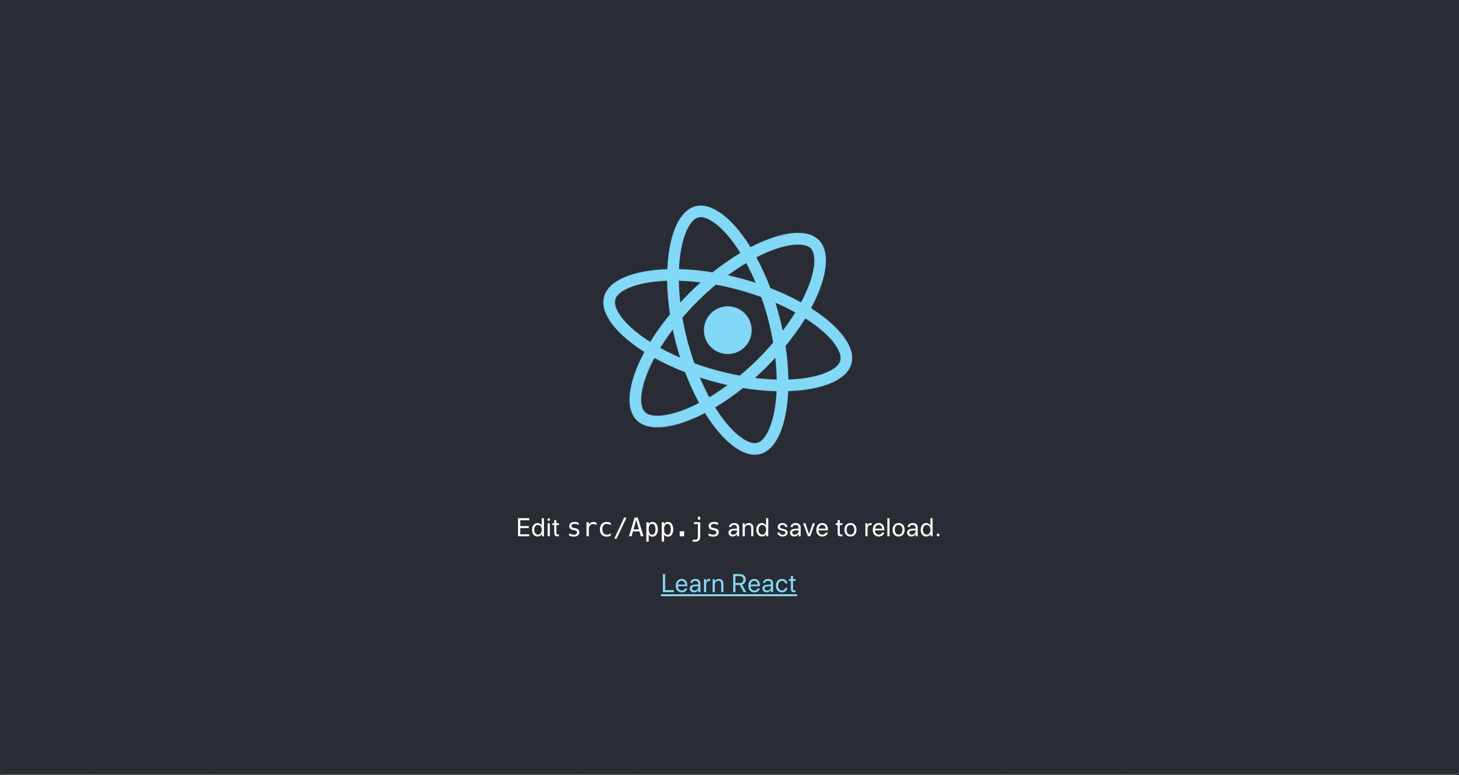 create-react-app intro