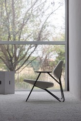 Polygon easy chair Prostoria at Macura Museum