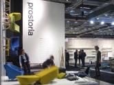 Prostoria auf der Möbelmesse in Stockholm, 2014