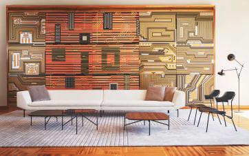 Prostoria's furniture at the Southern Salon: 2021 – Villa Zagorje