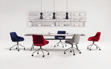 Gleiten durch das Büro – mit dem neuen Stuhl MONK