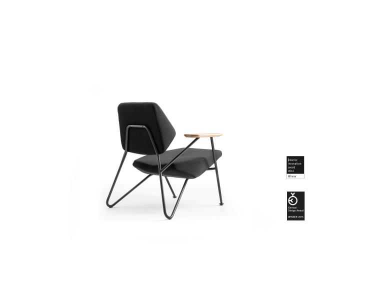 Polygon - Polygon fauteuil basse