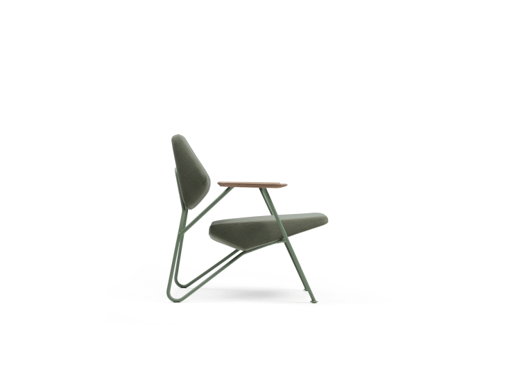 Polygon - Polygon easy chair outdoor