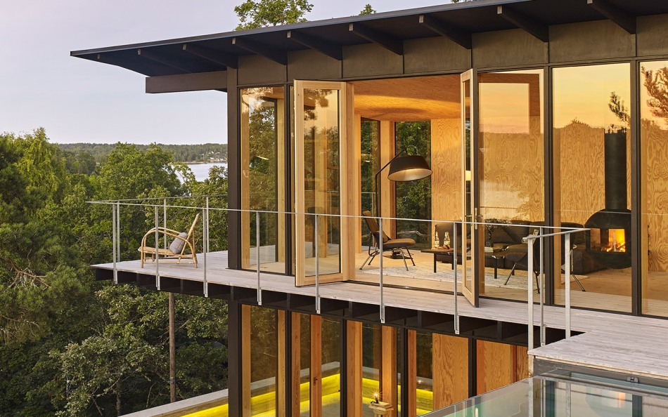 Private summer house