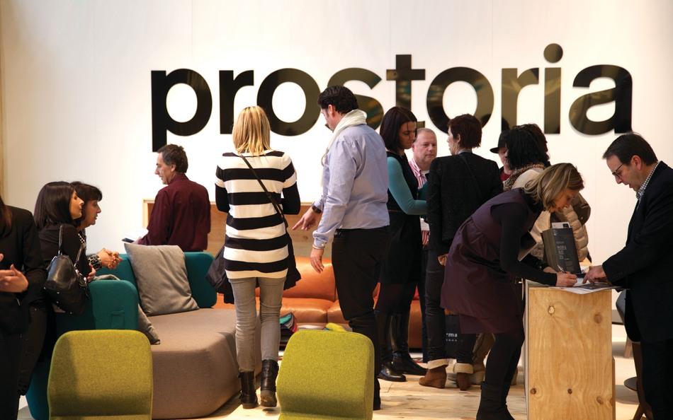 Prostoria auf Maison & Objet, 2014