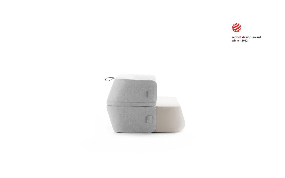 Sofa Revolve gewann den Preis Red Dot für Produktdesign in 2012