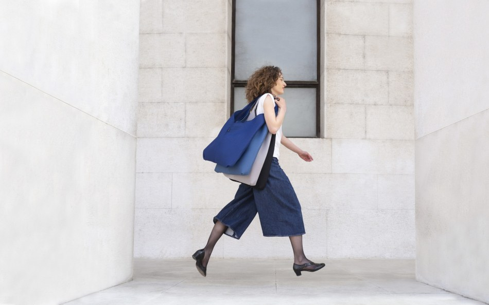 Fashionable Bags from Leftover Furniture Fabrics - Štof by Prostoria