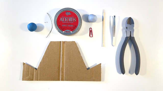 Pocket-Sized Animation Studio - Materials used