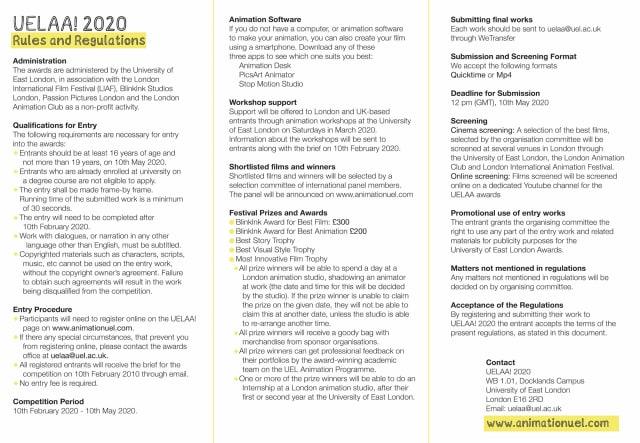 UELAA 2020 - brochure