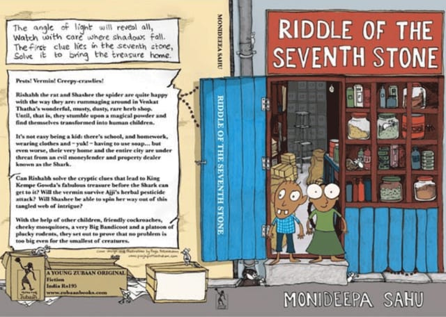 Riddle of the Seventh Stone - cover