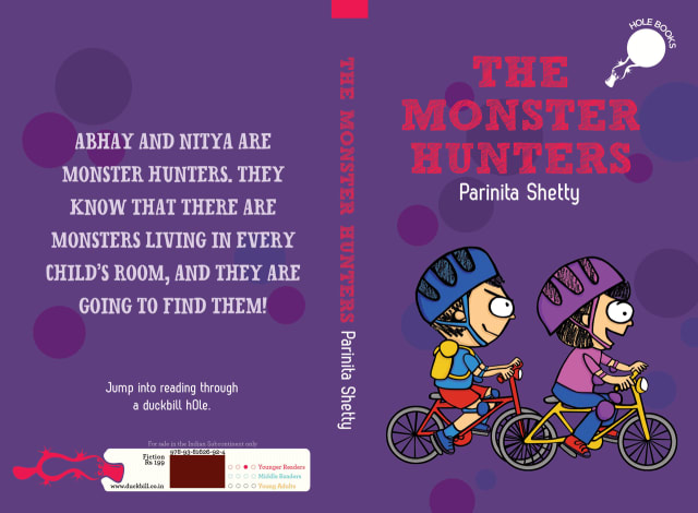The Monster Hunters - cover