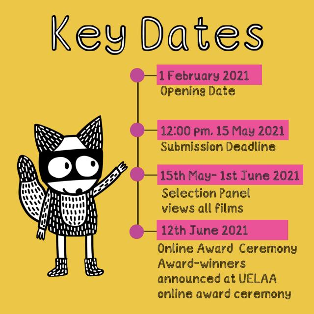 UELAA 2021 Key Dates