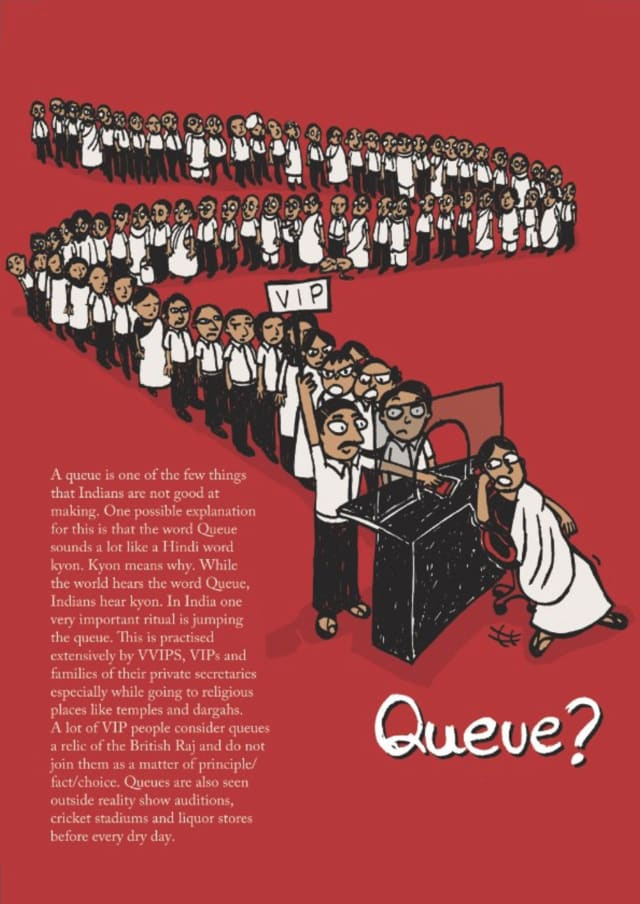 The Great Indian Diary - Queue