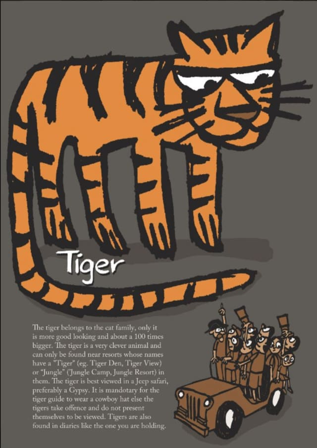 The Great Indian Diary - Tiger