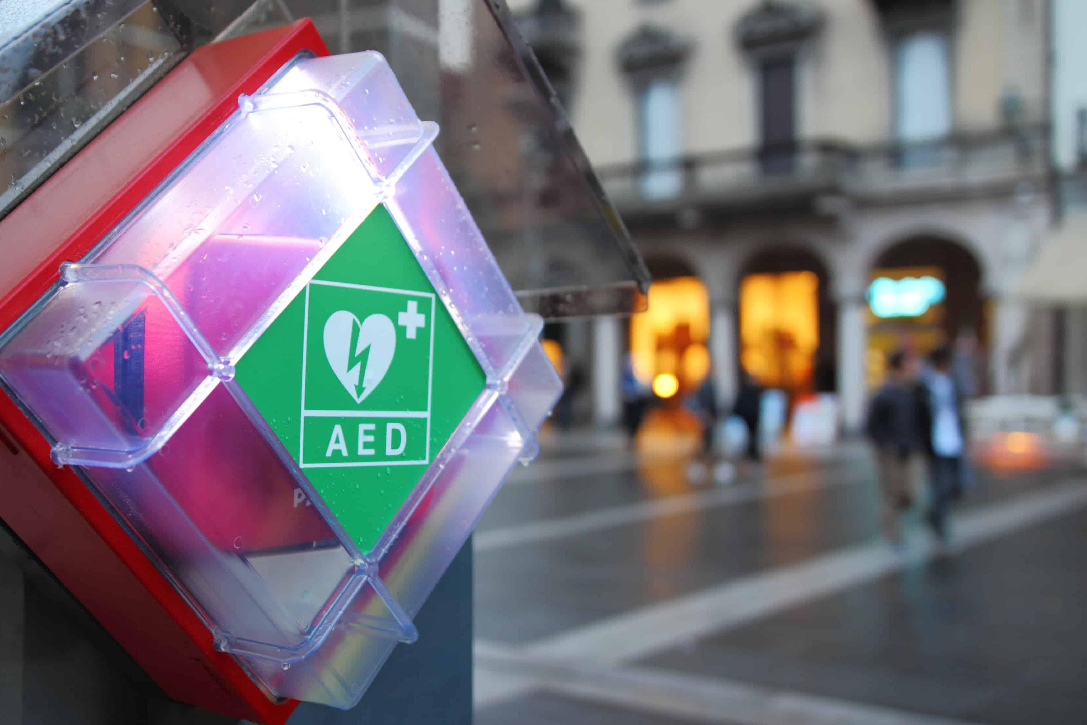 Defibrillator Standorte mit der Defikarte App finden