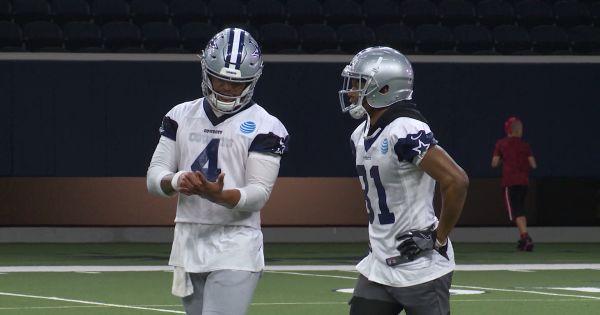 Image of Dallas Cowboys during mini camp