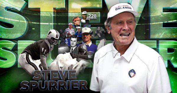 Image of a Steve Spurrier collage