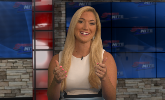 Image of Jill on Set
