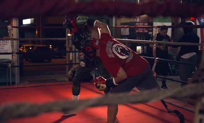 Image of Eric Morante Boxing