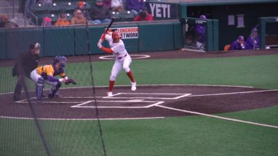 Image of Texas Baseball playing against LSU