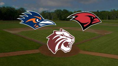 Image of baseball field with UIW, UTSA & Trinity logo