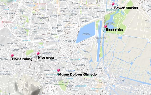 xochimilco map