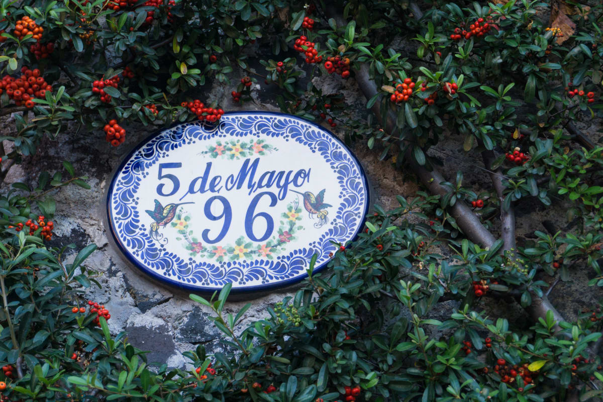 pretty house number