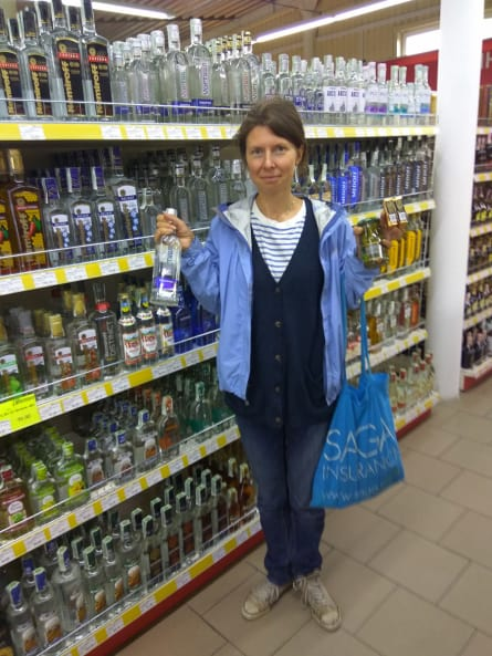 lots of vodka to choose from