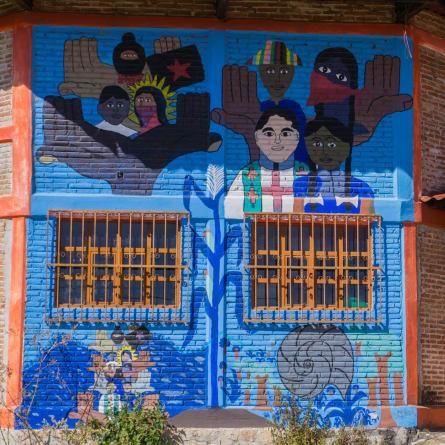 Zapatistas Graffiti
