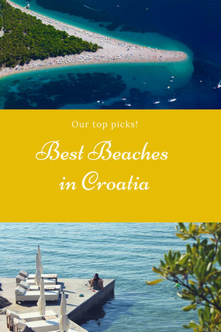 These are our picks for the best beaches in Croatia. #beaches #croatia