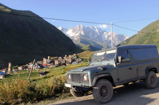 Our Land Rover Defender