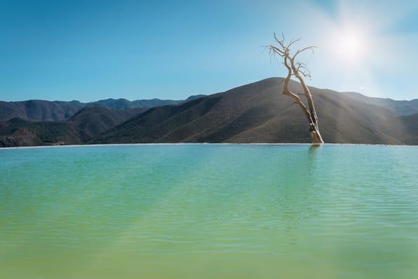 Hierve el Agua expectation