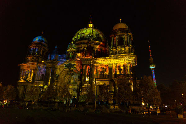 berlin cathedral festival of lights 2017