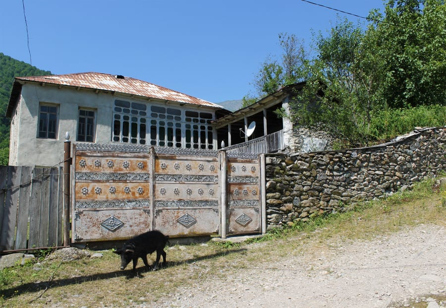 a village near Kutaisi