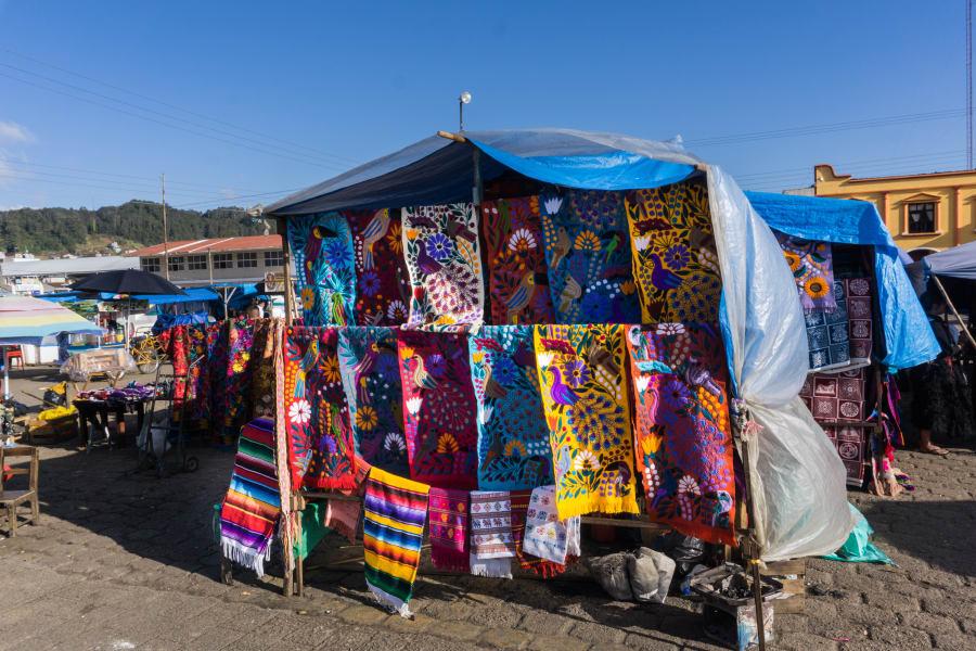 The sunday market of Chamula