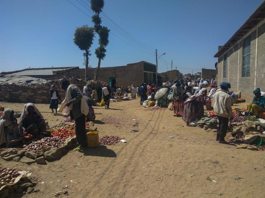ethiopian village