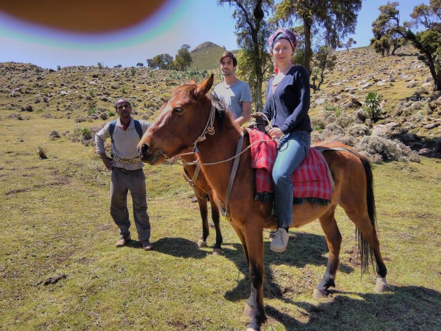 train riding in ethiopia