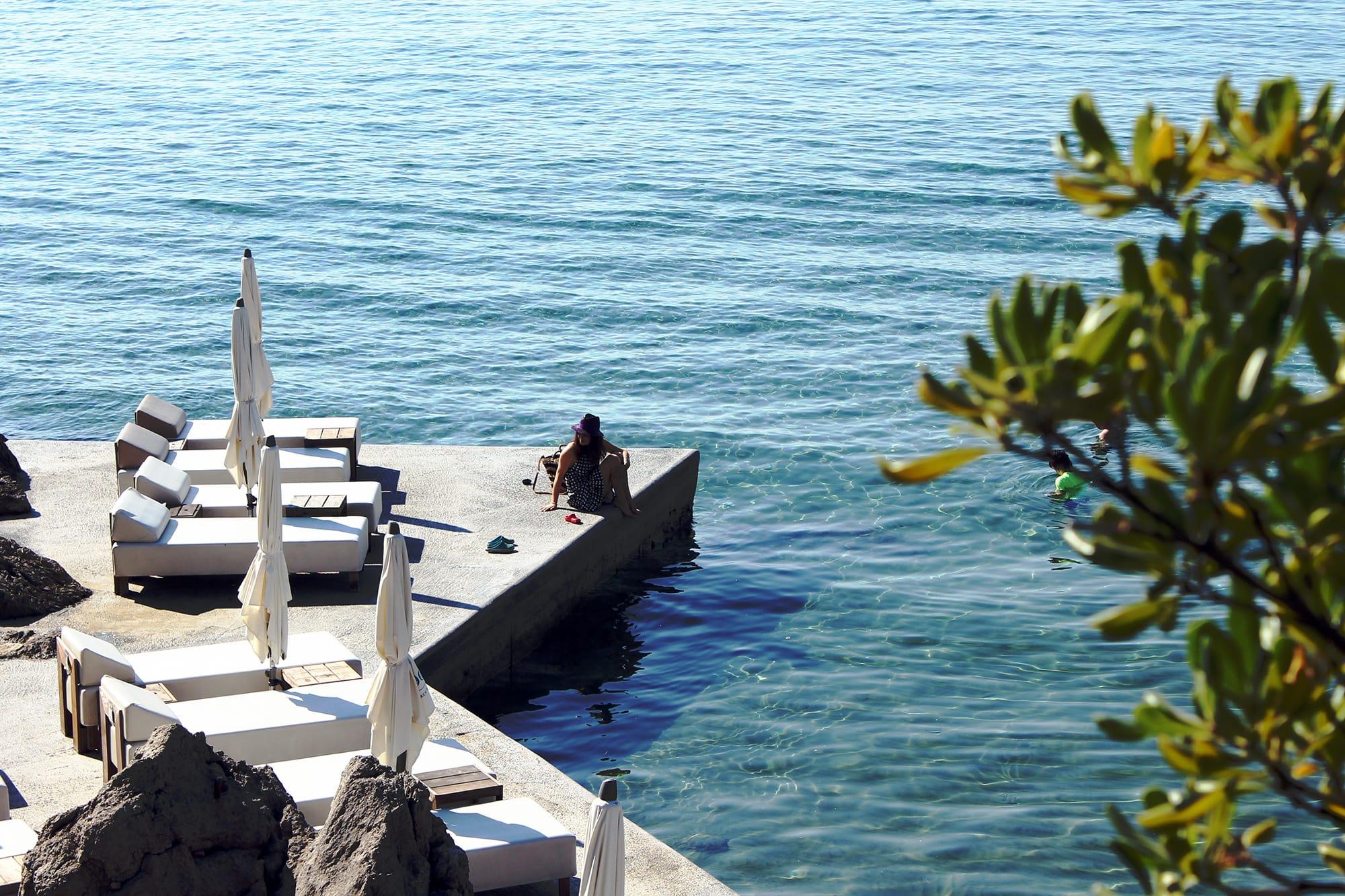 adriatic sea at opatija croatia