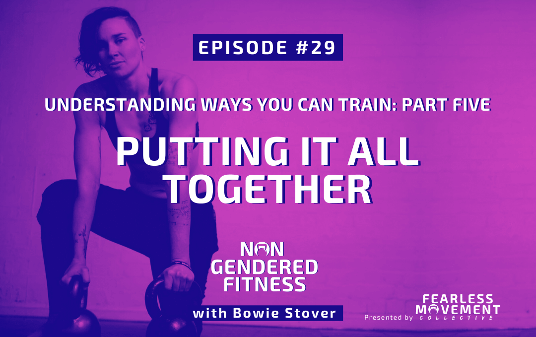[Episode 29] Understanding Ways You Can Train: Part Five – Putting It All Together