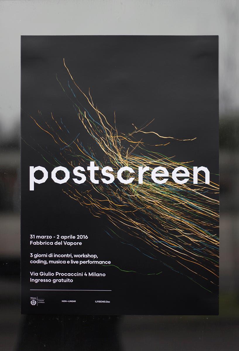 post-screen