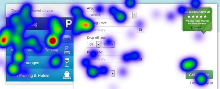 Eye Tracking Map