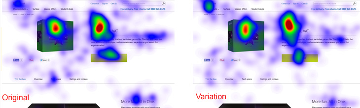 Xbox Eye Tracking Results