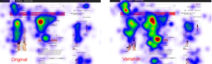 Asos Eye Tracking Results