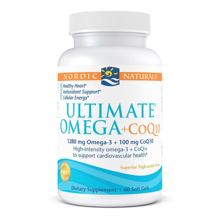 终极Omega鱼油+辅酶Q10