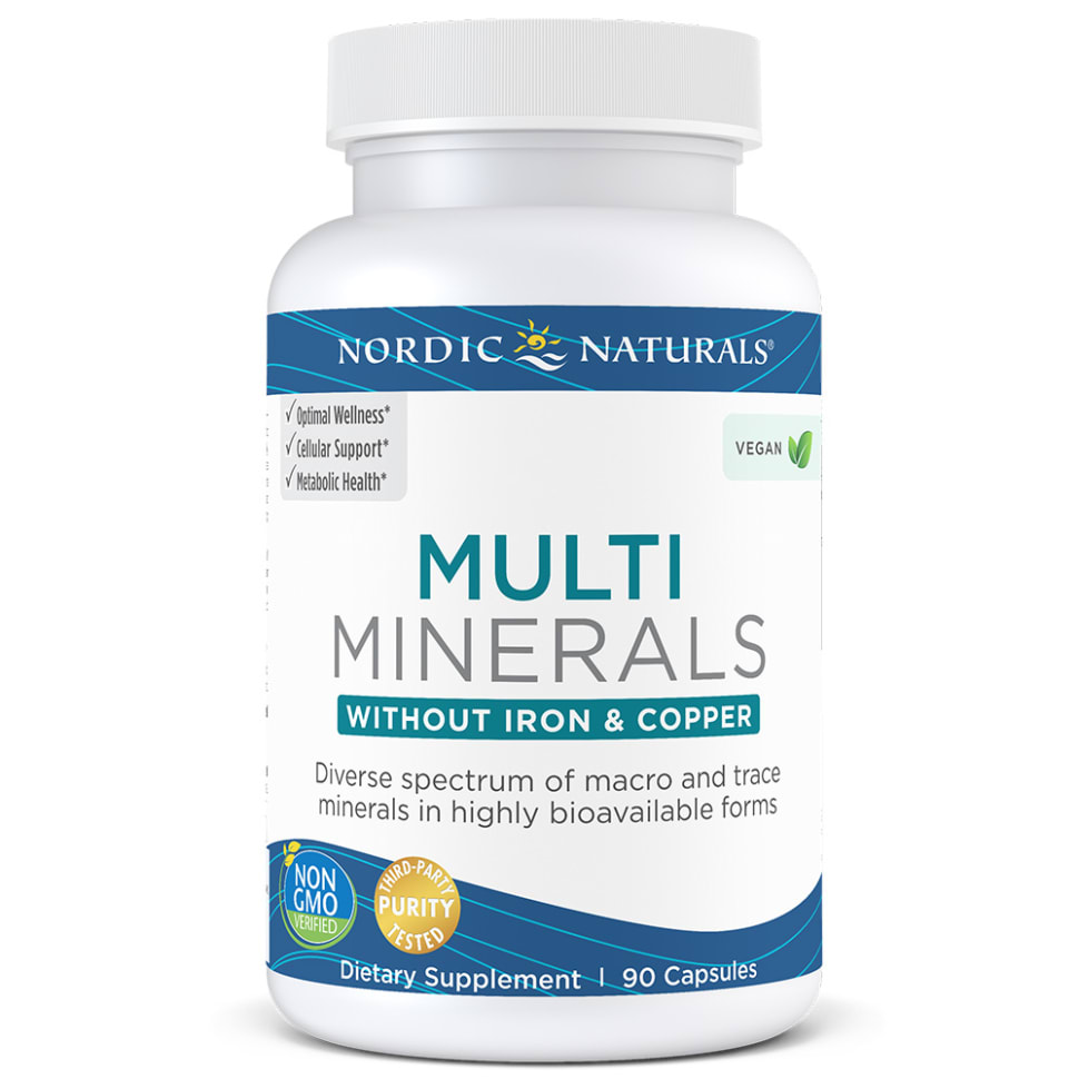 Multi Minerals without Iron & Copper